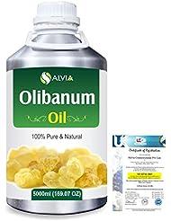 Olibanum (Boswellia Serrata) 100% Pure Natural Essential Oil 5000ml/169 fl.oz.