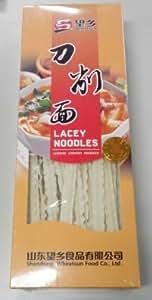 中華物産人気商品 望郷刀削面 花辺刀削麺 食品中国産 麺食のふるさと 400g