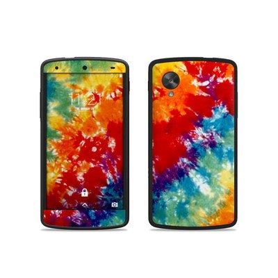Google Nexus5用 スキンシール【Tie Dyed】