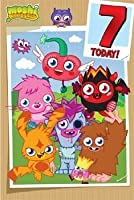 Moshi Monsters Age 7 Birthday Card by Party2u [並行輸入品]