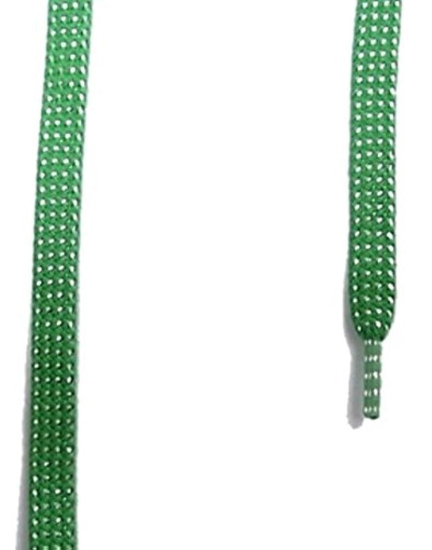 圧縮されたつぼみ有彩色のis-fit  RH-6 ラメ 平 120cm  グリーン/S