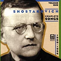 Shostakovich: Complete Songs, Volume 1 (2002-04-30)