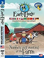 Early Lingo Numbers and Counting at The Farm DVD (Part 2 English) [並行輸入品]