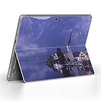 Surface go 専用スキンシール サーフェス go ノートブック ノートパソコン カバー ケース フィルム ステッカー アクセサリー 保護 その他 クール 写真・風景 外国 写真 景色 風景 003261