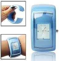 YLY 腕時計 ウォッチ 学生用 子供用 スポーツ フィットネス バックライト (色 : 青)