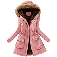 Gillberry Women's Jacket Women's Jacket Warm Long Slim Winter Outwear Tops for