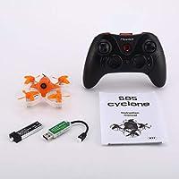 Kongqiabona Mirarobot S85 5.8Gミニマイクロ高速FPVレーシングクアドコプター無人機5mW 600TVLカメラ3/6軸リアルタイム