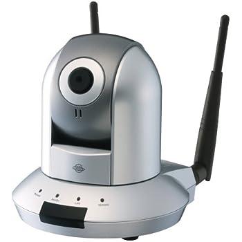 PLANEX iPhone/Galaxy S/Xperiaで簡単にパン・チルト操作ができる 11n/b/g無線・有線LAN対応ネットワークカメラ(メモリカードスロット付) CS-WMV04N