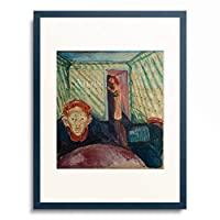 エドヴァルド・ムンク Edvard Munch 「Jealousy」 額装アート作品