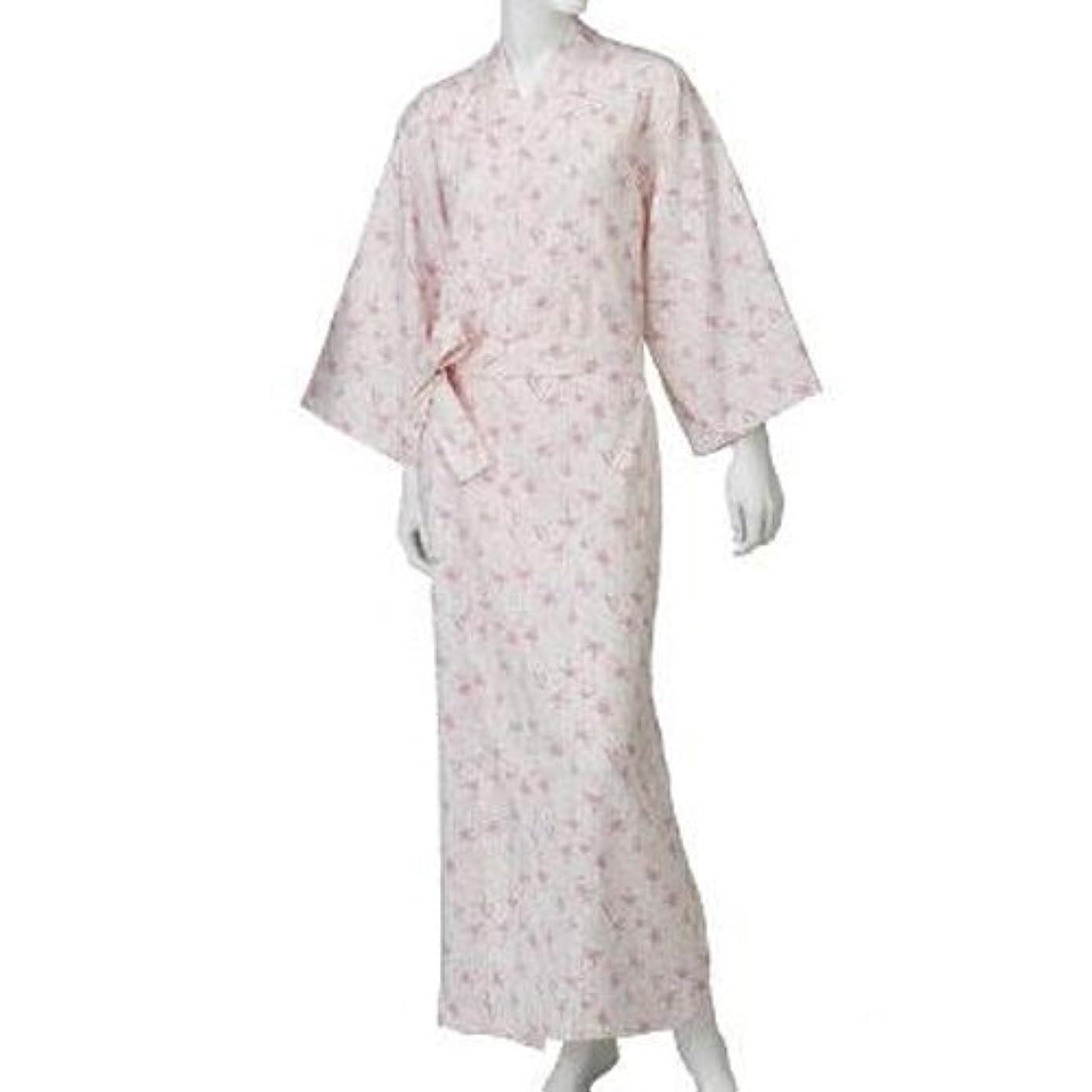 フォローお祝いデッドコベス 婦人カラーガーゼねまき ピンク NE69 L