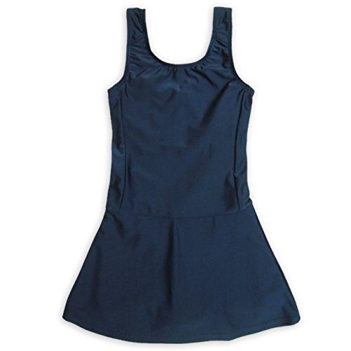 ASHBERRY (アッシュベリー) キッズスクール水着 女子用スカート&スパッツ型 [UPF50+紫外線対策加工] 130cm(865644)