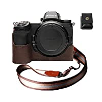 ニコン Z7 Z6 本革カメラケース バッテリー交換可能タイプ コーヒー