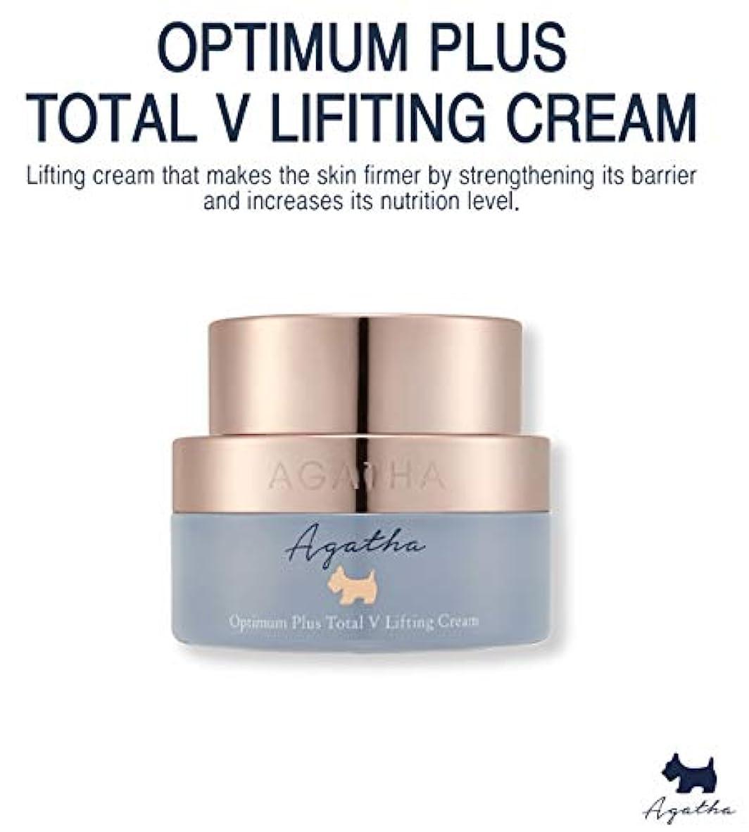 エジプト氏偏心アガタ オプチマムプラス トータルVリフティングクリーム Optimum Plus Total V Lifting Cream 50ml [並行輸入品]