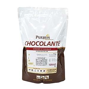 業務用製菓用チョコ ショコランテ ガーデナー ホワイトチョコレート40% 1kg