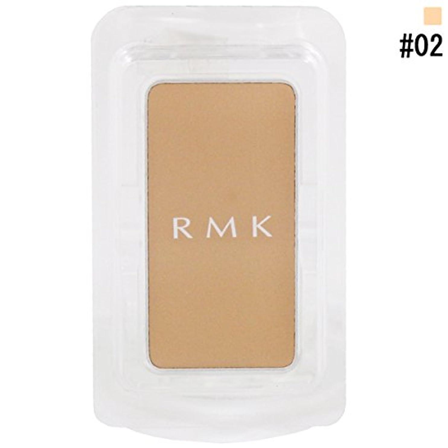 RMK アールエムケー カジュアルソリッド ファンデーション b (レフィル) #02 3g [並行輸入品]