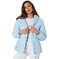Rpm Women's Womens Down Jacket Pu Blue