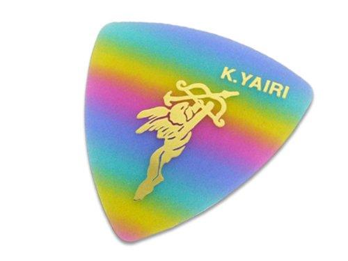 K.YAIRI 三角ピック M(エンジェル/レインボー)×10枚セット(トライアングルピック)ミディアム