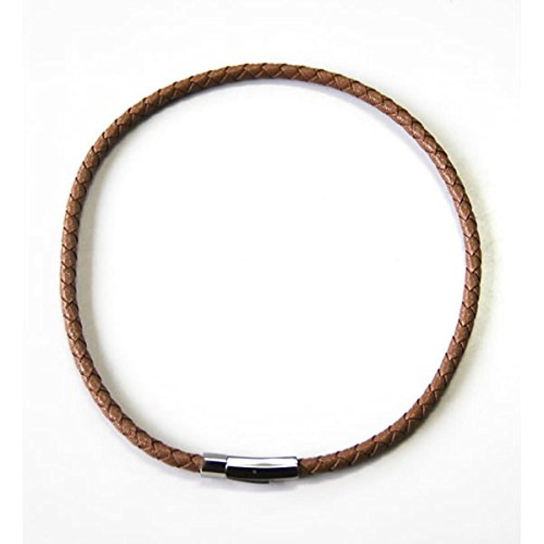 シールド実際にヘルシーコランコラン 粋(IKI) マイナスイオンネックレス colancolan (Lサイズ(50cm), キャメル)