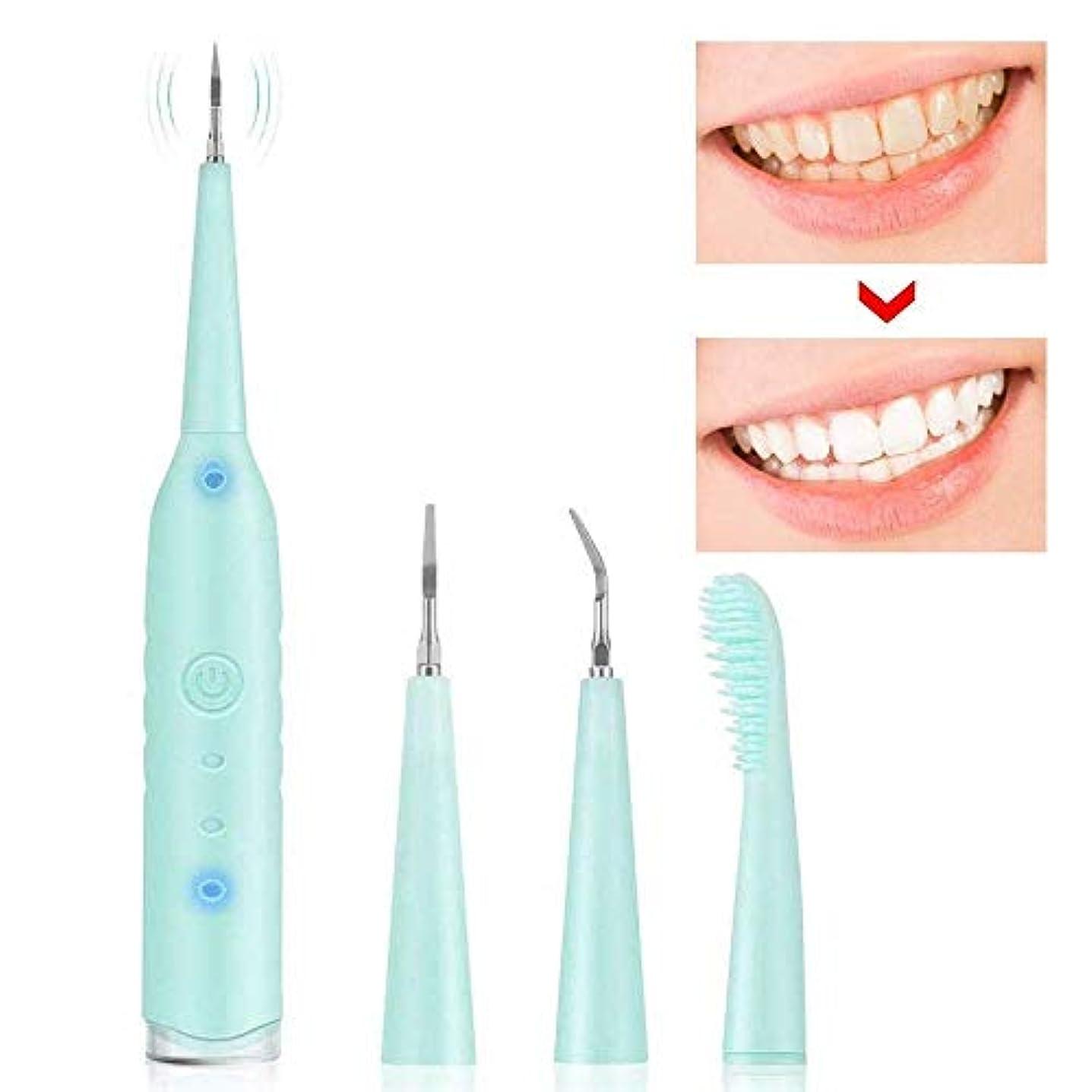 ポータブル電動スケーラー充電式歯磨き粉家庭用電気歯石除去剤歯石スクレーパー歯石除去剤歯研磨