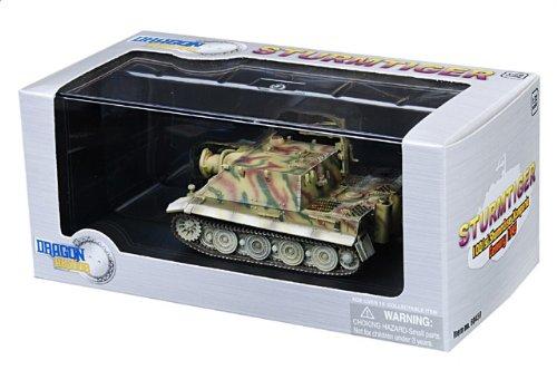 1:72 ドラゴンモデルズ アーマー コレクター シリーズ 60459 Sturmtiger ディスプレイ モデル ドイツ軍 1001st Sturmmorser Kompanie Bonn ドイツ