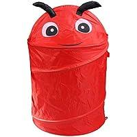 yamalans Cute Cartoon Animal折りたたみバケットランドリーバスケット洗濯物コンテナおもちゃ S MM4423DH15Z9