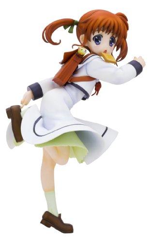 魔法少女リリカルなのは アニ スタチュー スクール ユニ バージョン PVC フィギュア