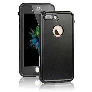 REDPEPPER iPhone7(4.7インチ)専用防水ケース(XLF series )、iPhone7軽量スマホケース、iPhone7スマホ防水ケース、防水カバー、防水保護等級IP68、防水、防雪、防塵、耐衝撃、静音ネジ付け、おしゃれな保護ケース。 (黒い)