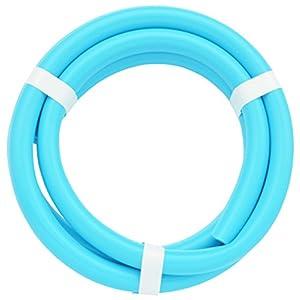ガオナ これカモ 二槽式洗濯機用 給水ホース 1.0m (長さ調節可能 パステルブルー) GA-LC015