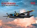 ICM 1/48 アメリカ空軍 B-26C-50 インベーダー コリアンウォー プラモデル 48284