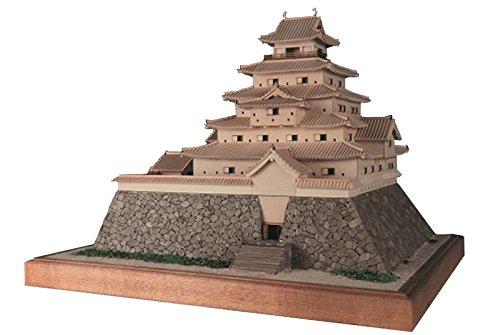 ウッディジョー 1/150 鶴ヶ城 木製模型 組立キット