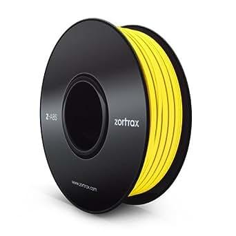 Z-ABS 3Dプリンター用 フィラメント ABS樹脂 1.75mm 800g Zortrax社 3Dプリンター対応 11色選択可! (黄色yellow)