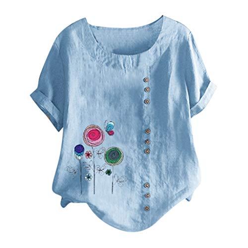 カットソー Tシャツ レディース ストライプ シャツ ボタン...