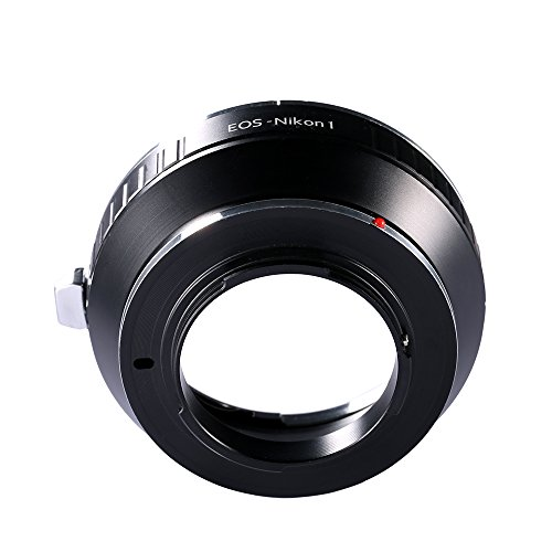K&F Concept マウントアダプター PENTAX67-EOS ペンタックスPentax 67マウントレンズ- Canon EOSカメラボディー マウントアダプター ニコン 対応レンズアダプター マウント変換アダプター (EOS-NIKON1) マウントレンズ- 高精度 高品質