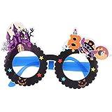 Tuankay ハロウイン 仮装 メガネ 子供 幼稚園 パーティー コスチューム 小道具 可愛い 全5パターン C 1個セット