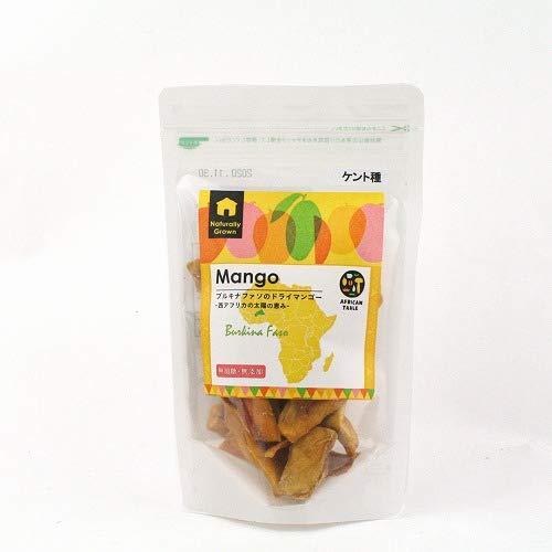 【ECOCERT認証材料仕様】ブルキナファソのドライマンゴー(ケント種)  無添加・砂糖不使用 (80g)