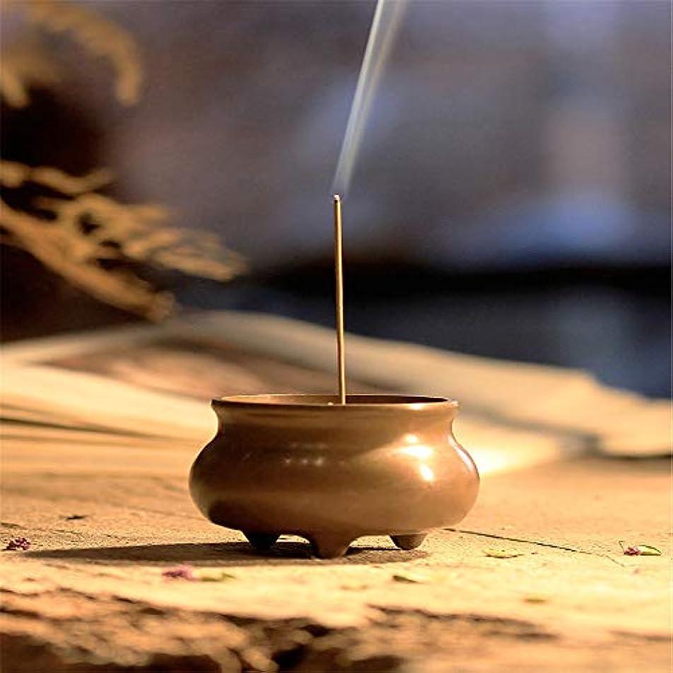 スズメバチ震える志すミニ家庭用銅香炉寒天炉小さな銅炉ホームオフィス茶室ホーム装飾用香炉に戻る4.8 * 3.8 * 3.6 cm