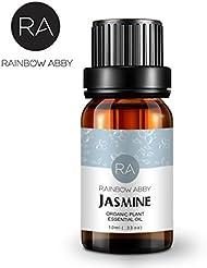 RAINBOW ABBY エッセンシャル オイル アロマテラピー ナウ ピュア 有機 精油 セット ディフューザー用 ジャスミン