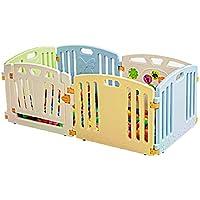 赤ちゃんゲームフェンス赤ちゃんフェンスクロール幼児フェンス赤ちゃん玩具ガードレール組み合わせパッケージPlaypen (サイズ さいず : 80×156×60cm)