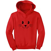 Tstars - Cute Face Halloween Easy Costume Toddler Hoodie