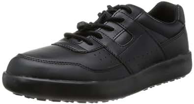 [ミドリ安全] 作業靴 耐滑 スニーカー ハイグリップ H711 N ブラック 22 cm 3E