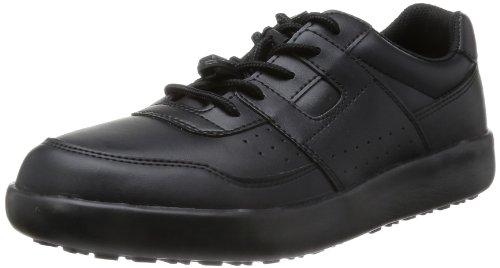 [ミドリ安全] 作業靴 耐滑 スニーカー ハイグリップ H711 N ブラック 26.5 cm 3E