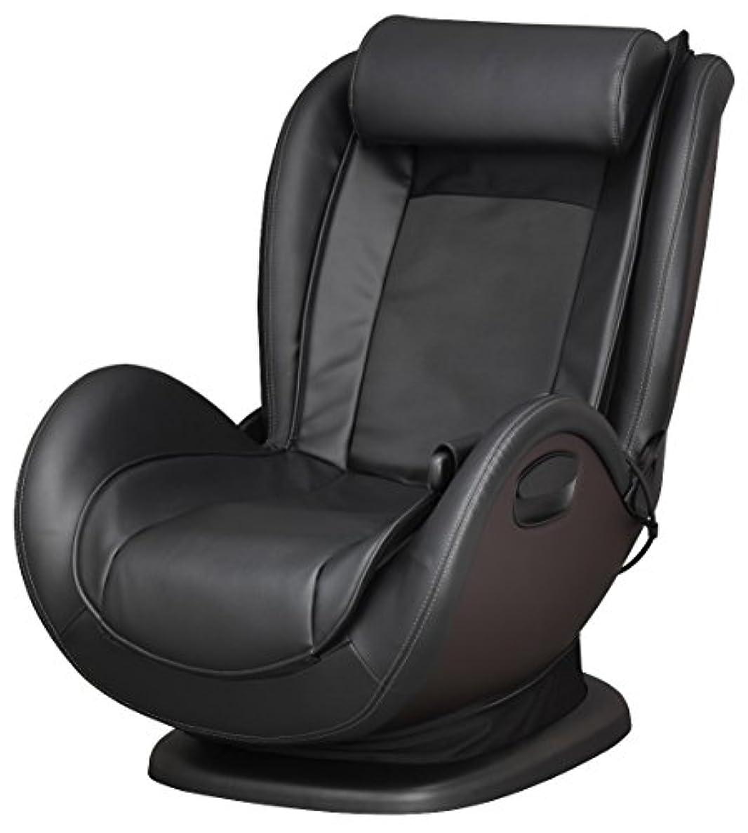 スペード指導する必要条件スライヴ マッサージチェア くつろぎ指定席 Lowstyle ブラック CHD-761 BK