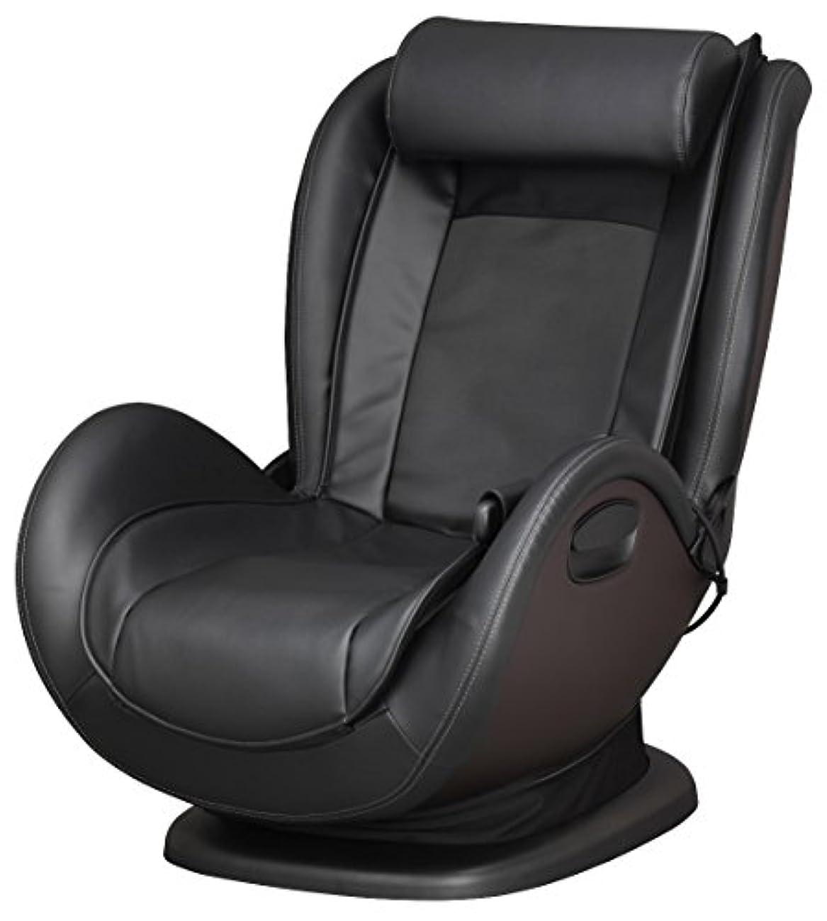 マーティンルーサーキングジュニア猛烈な勧めるスライヴ マッサージチェア くつろぎ指定席 Lowstyle ブラック CHD-761 BK