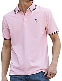 (アドミックス アトリエサブメン) ADMIX ATELIER SAB MEN メンズ サマー 鹿の子 ワンポイント 刺繍 半袖 ポロシャツ 02-62-9751