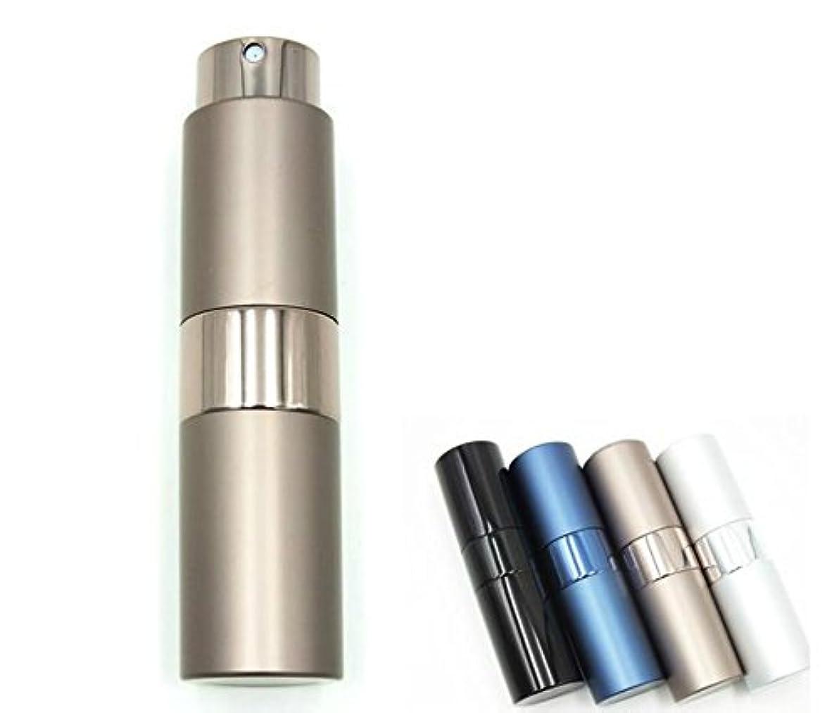 冬早熟にShopXJ 香水 メンズ アトマイザー 大人 男性 プッシュ式 詰め替え 持ち運び 身だしなみ 携帯用 15ml (ブラウン)