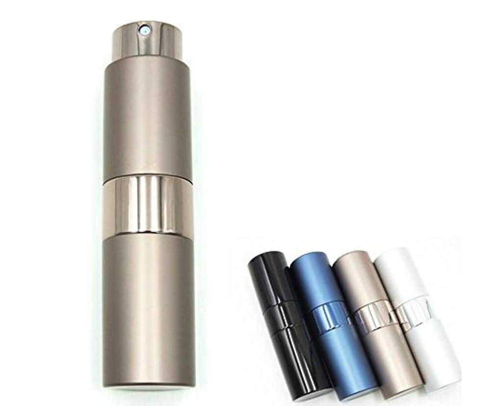 あいにく乗り出すスリップShopXJ 香水 メンズ アトマイザー 大人 男性 プッシュ式 詰め替え 持ち運び 身だしなみ 携帯用 15ml (ブラウン)