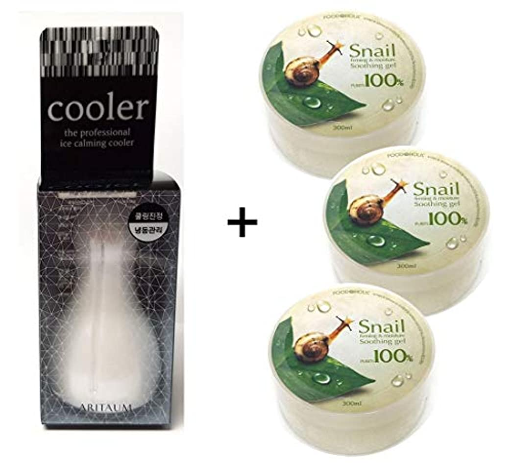 力学知っているに立ち寄るスパン[Aritaum]アイスカミングクーラー1EA + カタツムリスージングジェル3EA / Ice Calming Cooler 1EA + Snail Soothing gel 3EA / フェイスボディクール冷凍/スキンマッサージ...