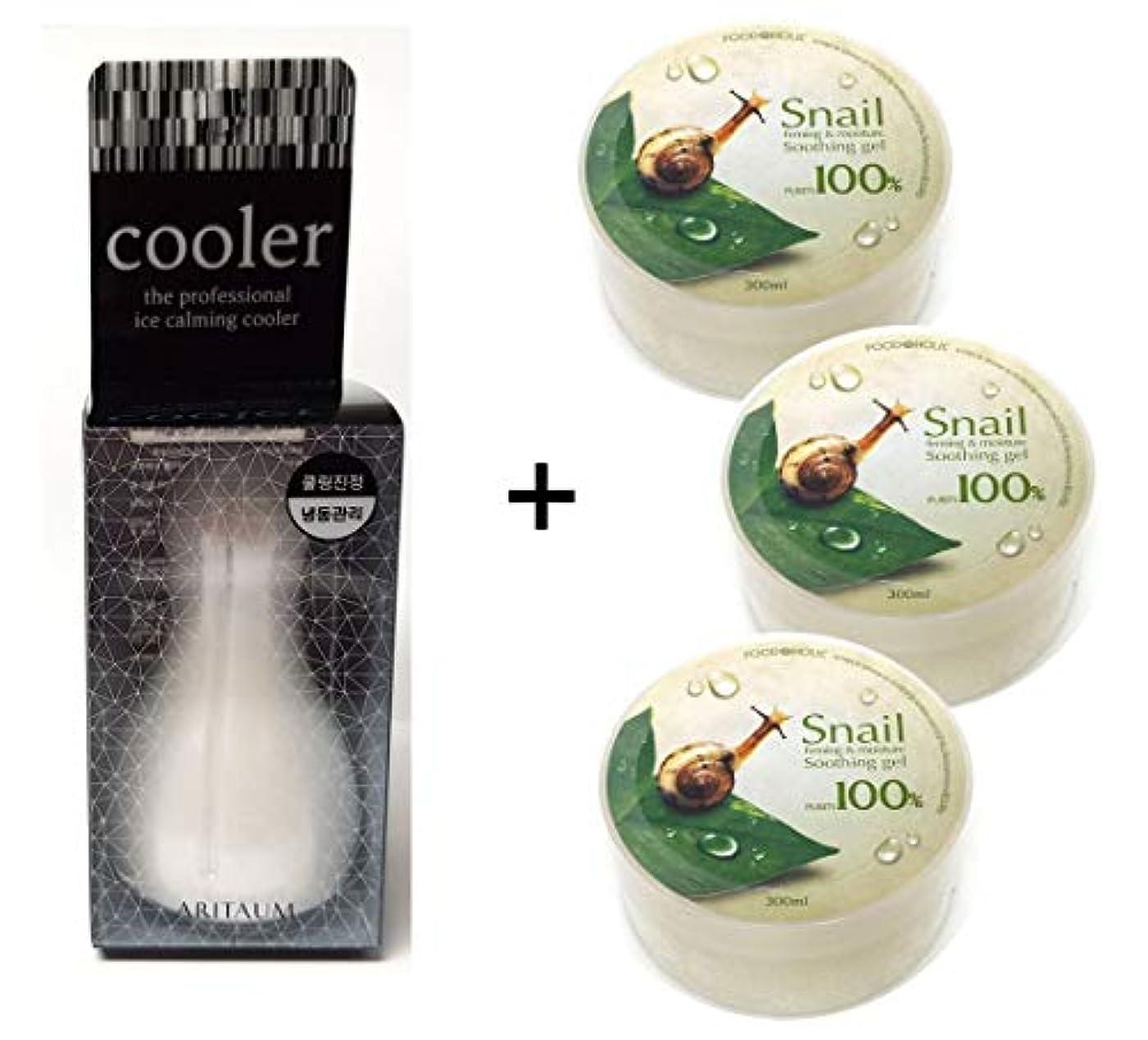 抑圧薄い呪われた[Aritaum]アイスカミングクーラー1EA + カタツムリスージングジェル3EA / Ice Calming Cooler 1EA + Snail Soothing gel 3EA / フェイスボディクール冷凍/スキンマッサージ/For Face Body Cool Frozen/skin massage [並行輸入品]