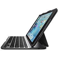 【正規代理店】belkin iPad mini4対応キーボードケース 軽量 電池寿命約6か月 QODE™ Ultimate Lite ブラック F5L191QEBLK-A