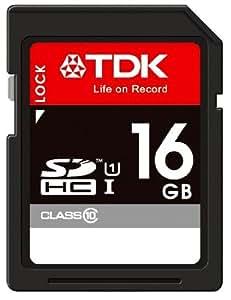 【Amazon.co.jp限定】TDK SDHCカード 16GB Class10 UHS-1対応 5年保証 [フラストレーションフリーパッケージ (FFP)] SDHC10U-16G-FFP